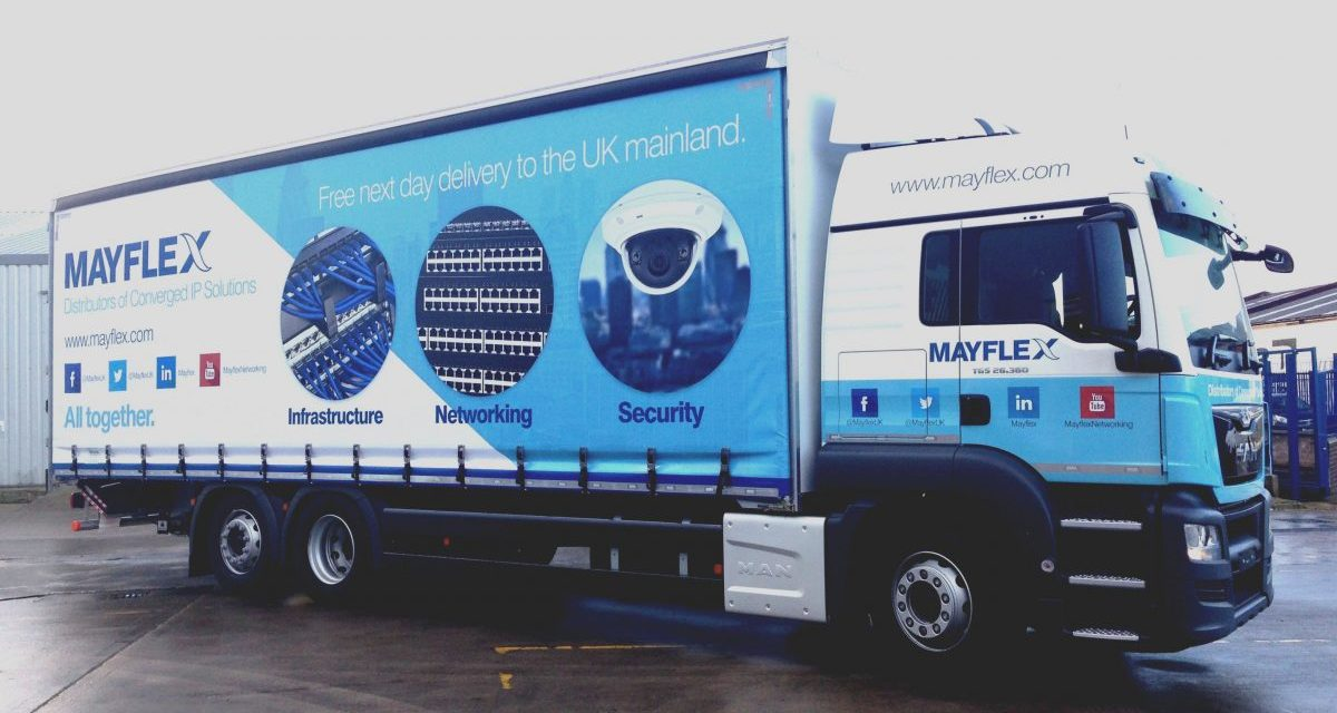 Mayflex and Excel Branding Takes to the Road