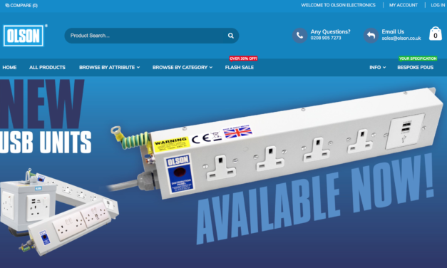 Olson Electronics Launches New Website