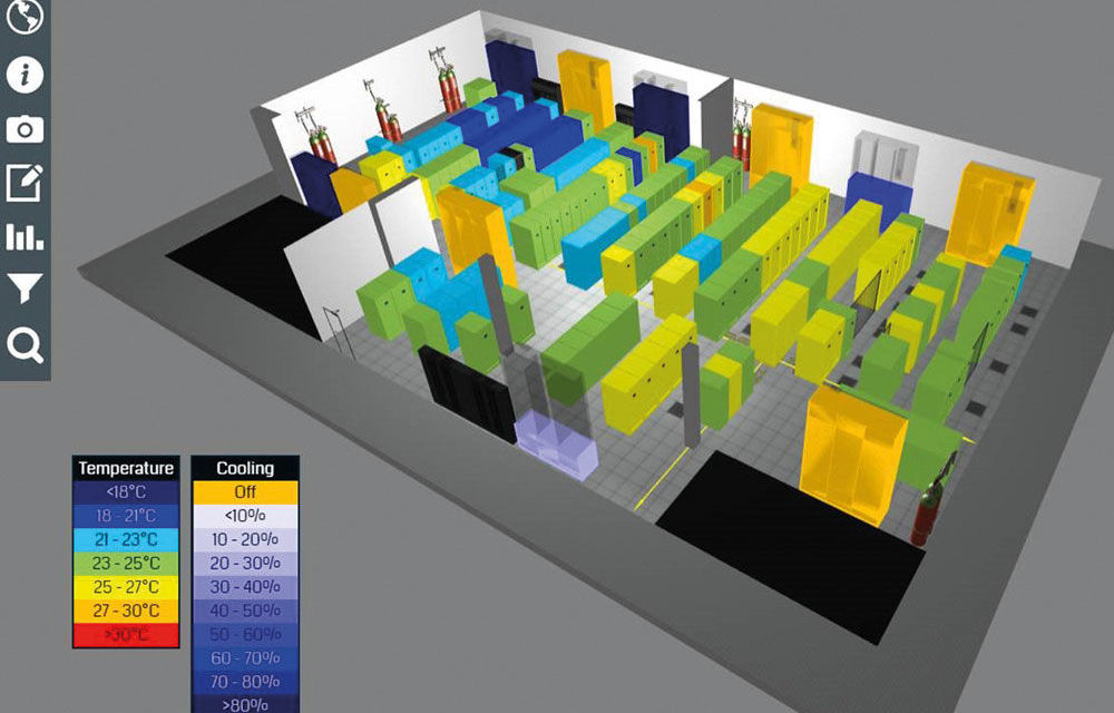 New EkkoSoft Critical 3D data centre Thermal Visualisation software