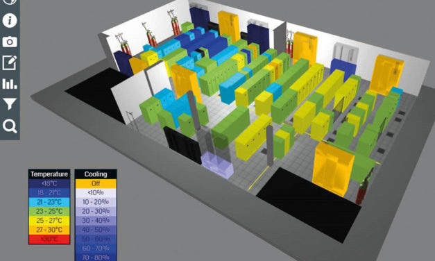 New EkkoSoft Critical 3D data centre Thermal Visualisation software