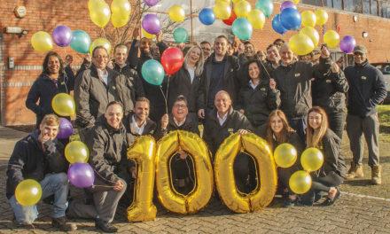 Mills celebrates century in business