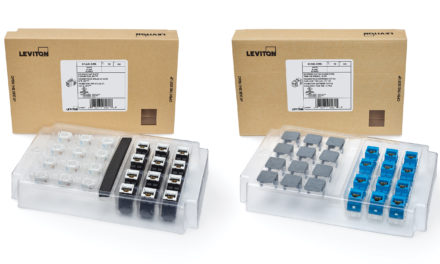 Leviton GreenPackTM Packaging Streamlines Installation and Reduces Material Waste