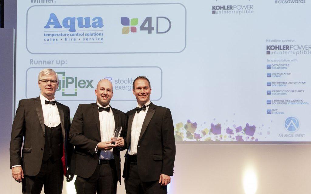 Aqua wins data centre accolade