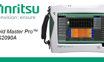 Anritsu Adds IQ Capture, Streaming Capability to Field Master Pro™ MS2090A RTSA