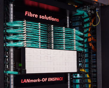 Cable management and containment in high-density data centres