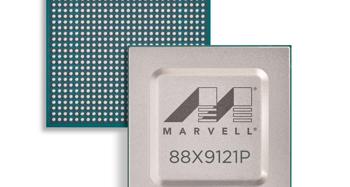 Marvell Delivers Industry's First Dual 400GbE PHY with 100G Serial I/Os and MACsec Security for High-Density Implementations in the Data Centre and Cloud