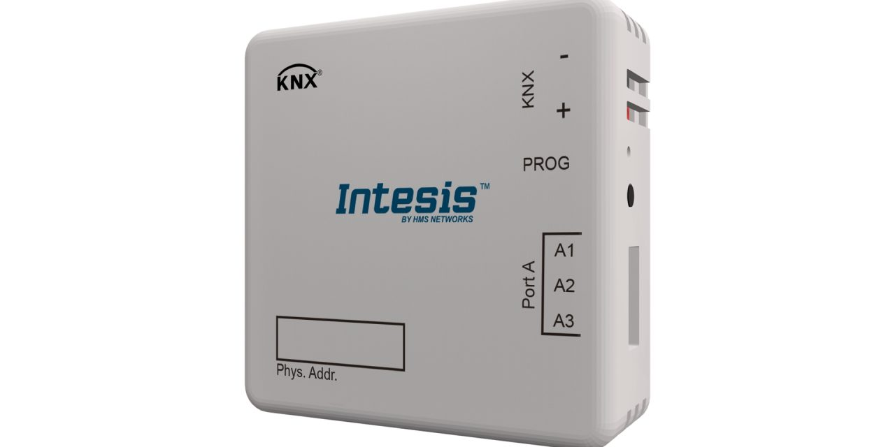 New Intesis gateway for easy integration of Modbus RTU slaves to KNX systems
