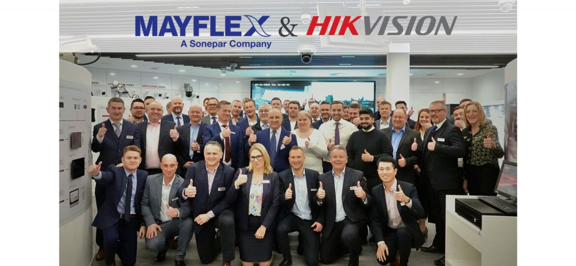 Mayflex distributes Hikvision Security Solutions