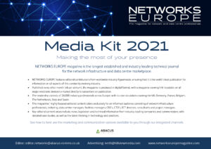 Networks Europe Magazine Media Pack 2021