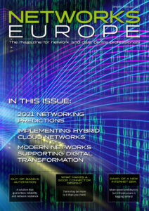 Networks Europe Magazine - January - February 2021 Issue front cover