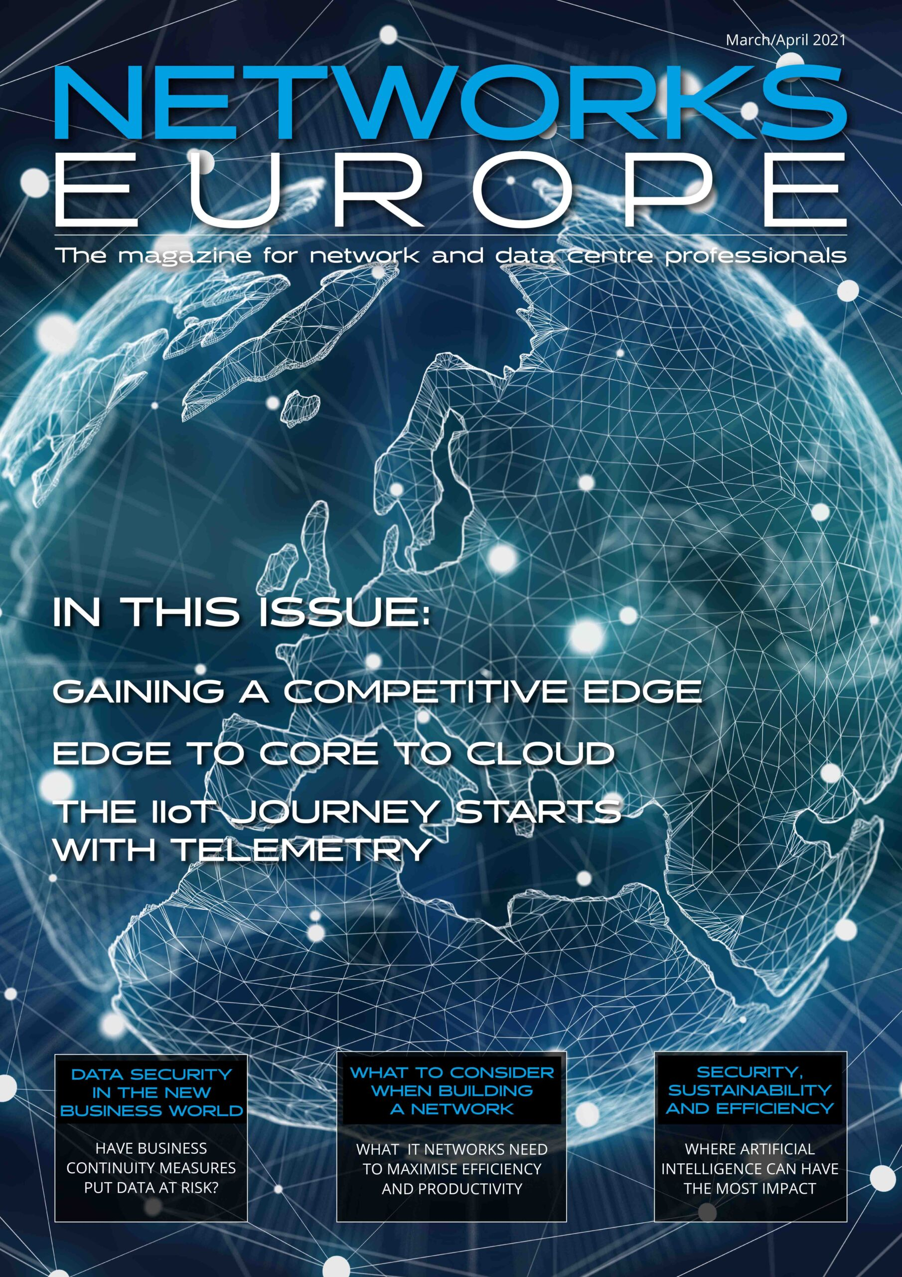 Networks Europe Magazine - March-April 2021 Issue front cover