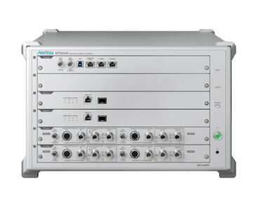 Anritsu's MT8000A and MediaTek M80 5G Modem achieve over 7Gbps Downlink Throughput with FR1+FR2 Dual Connectivity