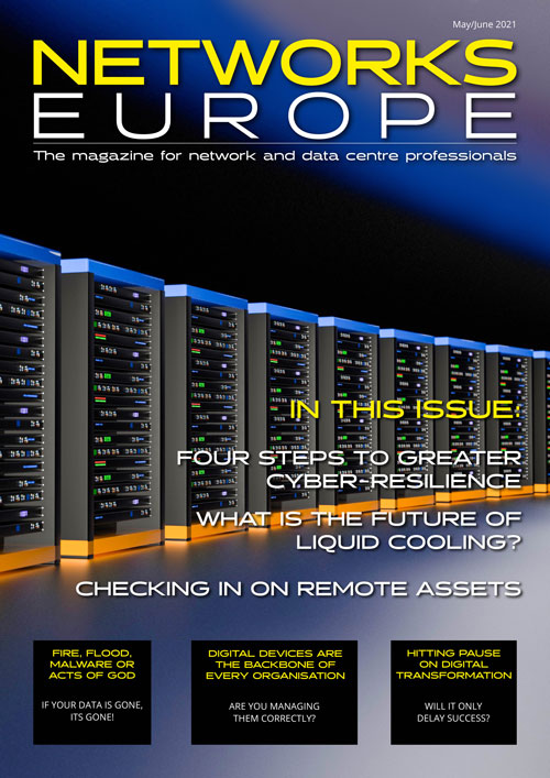 Networks Europe Magazine - May/June 2021 Issue front cover
