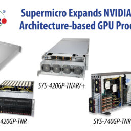 Supermicro Expands NVIDIA Ampere Architecture-based GPU Product Line for Enterprise AI Including an Industry-First 5 petaFLOPS in a 4U Tier 1 AI Platform