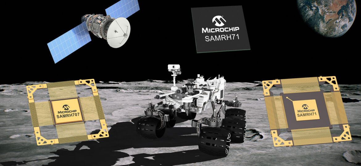 Microchip Announce Expansion of Its Radiation-Hardened Arm Microcontroller (MCU) Family for Space Systems