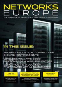 Networks Europe Magazine - September/October 2021 Issue Front Cover